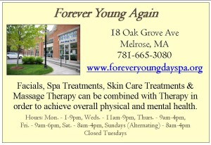 Forever Young Day Spa Ad for Website