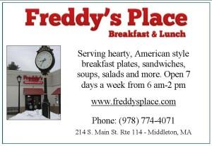 Freddys Place Ad